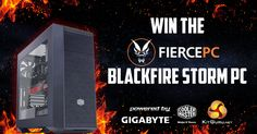 Win this awesome Fierce PC gaming system!  #GamingPc #Giveaway
