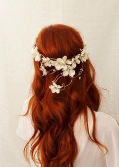 #bohemian #chic #red #hair