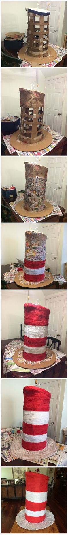 The Cat in The hat Piñata.