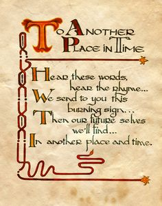 """""""To Another Place in Time"""" - Charmed - Book of Shadows"""