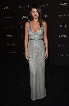 Selena Gomez Beaded Dress - Selena Gomez Clothes Looks - StyleBistro