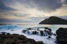 The rocky shores of southeast #Oahu make for some of the most beautiful sunrises.