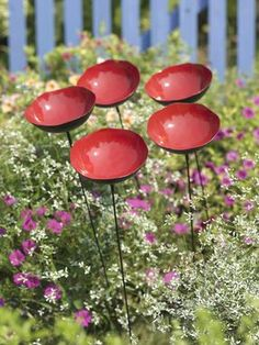 Poppy Sways, Set of 5 I love these - easy way to add color and they don't die!