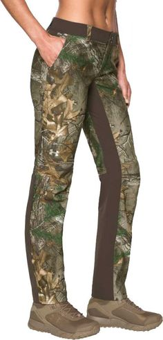 ab3134cd5101e Under Armour Women's Fletching Hunting Pants, Size: 12, Brown Hunting Pants,  Under