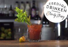 Recept på klassiska drinken Bloody Mary, en ganska syrlig variant. Ett måste på brunch men passar också perfekt som en fredagsdrink! Här får du en steg-för-steg-film och tips på hur du gör den alkoholfri.