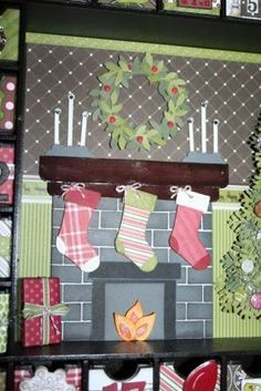 Stampin' Up!  Stocking Punch  Gail Murray
