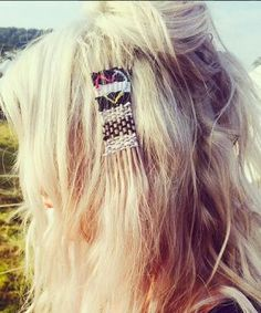 Hair tapestry is the cool twist on hair wraps created by Bleach London that will be the must-have summer festival hairstyle. Bleach London, Hair Dos, Your Hair, Weave Hairstyles, Cool Hairstyles, Camping Hairstyles, Sienna Miller, Festival Looks, Festival Style