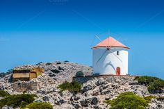 Check out Historic Windmill by ChristianThür Photography on Creative Market Architecture Photo, Ancient Greek, Windmill, Mount Rushmore, Mountains, Creative, Outdoor Decor, Photography, Travel