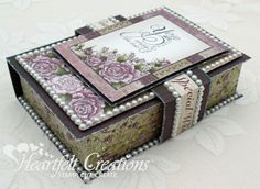 Heartfelt Creations   Raindrops On Roses Box
