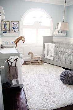 Baby Boy Room Ideas - Designing a boy nursery seems to be an overwhelming task. When you choose the best baby boy room ideas, multiple color Baby Bedroom, Baby Boy Rooms, Baby Room Decor, Baby Boy Nurseries, Nursery Room, Girl Nursery, Room Baby, Nursery Themes, Baby Room Grey