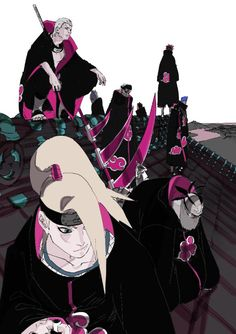 Naruto Shippuden Sasuke, Naruto Kakashi, Anime Naruto, Sasori And Deidara, Naruto Fan Art, Sasuke Akatsuki, Otaku Anime, Manga Anime, Deidara Wallpaper