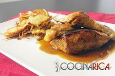 Secreto ibérico a la mostaza http://www.cocinarica.es/secreto-iberico-a-la-mostaza.html