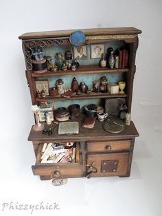 Wizards Cupboard by Phizzychick on Etsy