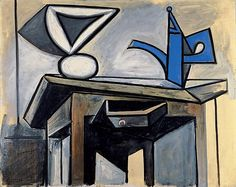 Pablo Picasso - Still Life with Coffee pot, 6 April 1947                                                                                                                                                                                 Plus