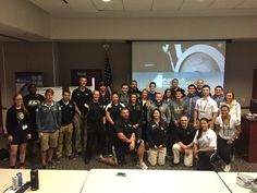 Great turnout for @LindenwoodU Exercise Science and Human Performance students and faculty for the conference today!
