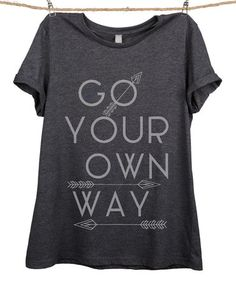 Charcoal 'Go Your Own Way' Relaxed Tee - Plus Too #zulily #zulilyfinds