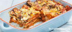 Lasagne pompoen geitenkaas - Leuke recepten