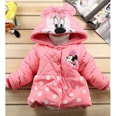 Head2Toe Gallery Mickey Jacket - Pink #winterbabyclothes #babyboutique #trendybabyclothes