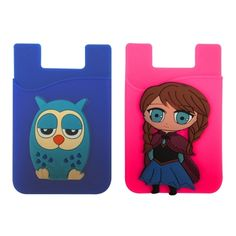 Customizable 3D Silicone Phone Wallet