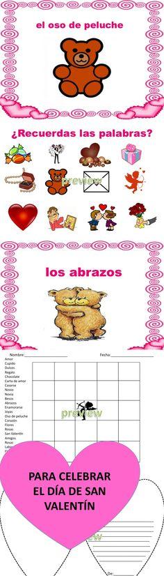 Para celebrar el Dia de San Valentin con la clase:)
