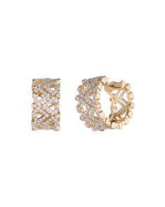 #She'sBrilliant 18K Yellow Gold & Diamond Huggie Earrings, Women's - Diamonds Unleashed