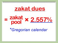 How to Calculate Your Personal Zakat -- via wikiHow.com