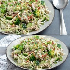 Pasta Recipes, Low Carb Recipes, Salad Recipes, Healthy Recipes, Waldorf Salat, Food To Make, Side Dishes, Food And Drink, Healthy Eating
