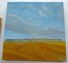 Barton Farm Oil on canvas