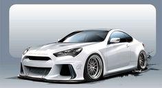Hyundai Solus Genesis Coupe, debut en el Auto Show SEMA Las Vegas - http://autoproyecto.com/2015/10/hyundai-solus-genesis-coupe-debut-auto-show-sema-las-vegas.html?utm_source=PN&utm_medium=Pinterest+AP&utm_campaign=SNAP