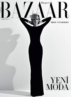 Smile: Covers: Harper's Bazaar February/March 2013