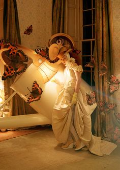 Lily Cole by Tim Walker for Italian Vogue