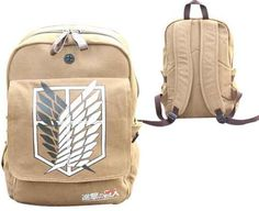 Attack on Titan Backpack - Survey Corps - IN STOCK NOW!