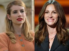 Emma Roberts Understands Why Julia Roberts Never Wants to Be on American Horror Story: ''I Don't Blame Her'' Julia Roberts, American Horror Story, Presidente Obama, Ryan Murphy, Horror Show, Scream Queens, Oscar Winners, Horror Stories, Christmas Shopping