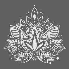 Mandala Doodle, Mandala Mural, Mini Mandala, Mandala On Wall, Simple Mandala, Zen Doodle, Mandala Tattoo Design, Dotwork Tattoo Mandala, Tatoo Henna