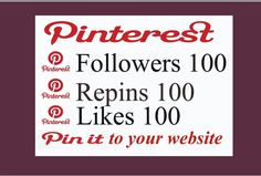 Are you looking for pinterest repins, followers and likes