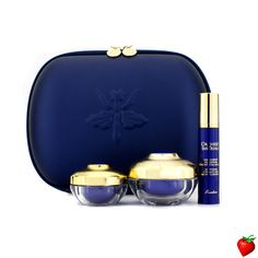 Guerlain Orchidee Imperiale Exceptional Complete Care Set: Cream 15ml + Longevity Concentrate 10ml + Eye & Lip Cream 7ml + Bag 3pcs+1bag #Guerlain #Skincare #Travel #Summer #Beauty #HotPick #FREEShipping #StrawberryNET