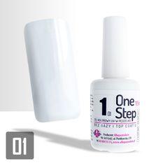 """Allepaznokcie """"One Step"""" Color Gel UV/LED 3in1 #01"""