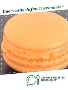 Macarons par chonchonnette. Une recette de fan à retrouver dans la catégorie Pâtisseries sucrées sur www.espace-recettes.fr, de Thermomix®.