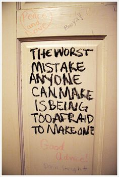 Mistakes?