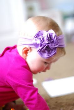 DIY: Jersey Knit Headband!