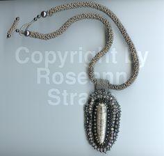 Roseann Straub's Orthoceras Fossil Squid (Beads)