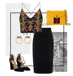 """Untitled #243"" by nnk24 ❤ liked on Polyvore featuring Burton, Raoul, Gucci and Topshop"