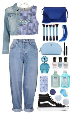 """""""Untitled #177"""" by queenxxbee ❤ liked on Polyvore featuring John Allan's, Topshop, Alice + Olivia, Vans, Uncommon, Boohoo, Eos, Marc Jacobs, Deborah Lippmann and Essie"""