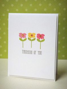 By Donna MIkasa for Avery Elle using Petals & Stems clear stamp set.