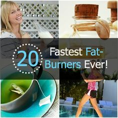 Burn calories and erase flab with these 20 fast fat-burners. | Health.com