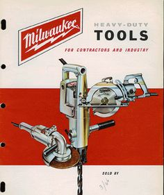 1966 Milwaukee Electric Tool Product Catalog
