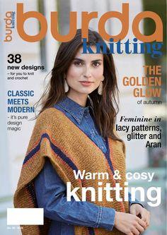 Knitting Books, Knitting Magazine, Wrist Warmers, Garter Stitch, Ribbed Sweater, Wool Yarn, Knitting Patterns, How To Look Better, Feminine