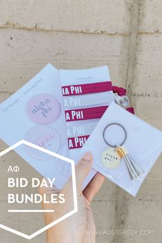 Spoil your new members this recruitment with the Pref Present bundle! Gift bag includes a sorority tassel keychain, hair tie set, and button set. Alpha Phi Gifts   Alpha Phi Bid Day   APhi New Member Gifts   APhi Rush Gift Bags   Alpha Phi Recruitment   Sorority Bid Day   Sorority Recruitment   Bid Day Bags   Sorority New Member Gift Ideas #BidDayGifts #SororityRecruitment