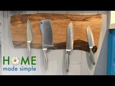 The Elegant Floating Knife Holder Every Kitchen Needs | Home Made Simple | Oprah Winfrey Network - YouTube
