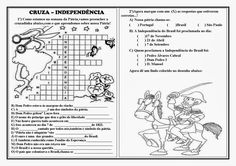 Resultado de imagem para caça palavras da independencia do brasil Bullet Journal, Google Drive, History Activities, Interactive Activities, Writing Activities, Reading Activities, Historia, Miniature, Events